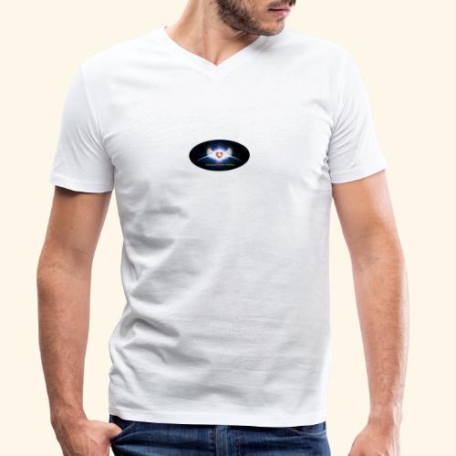 AMH Symbol - Männer Bio-T-Shirt mit V-Ausschnitt von Stanley & Stella