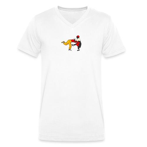 Do the Lindy Liten - Ekologisk T-shirt med V-ringning herr från Stanley & Stella