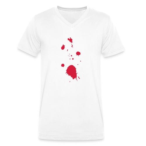 blut - Männer Bio-T-Shirt mit V-Ausschnitt von Stanley & Stella