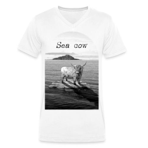 Sea cow - T-shirt bio col V Stanley & Stella Homme