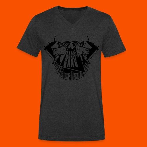 bmg png - Männer Bio-T-Shirt mit V-Ausschnitt von Stanley & Stella
