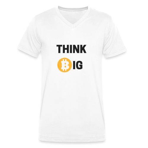 Think Big - Männer Bio-T-Shirt mit V-Ausschnitt von Stanley & Stella