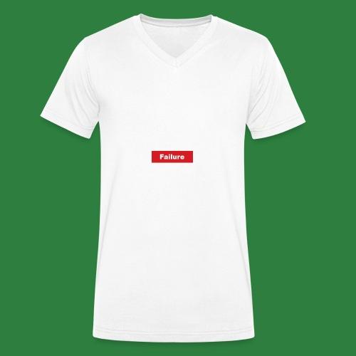 Faliure - Økologisk T-skjorte med V-hals for menn fra Stanley & Stella