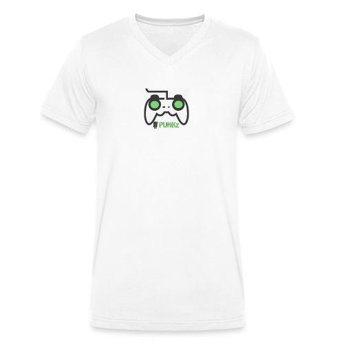 punkzgamer - Men's Organic V-Neck T-Shirt by Stanley & Stella