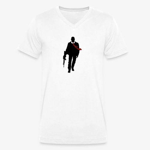 PREMIUM SO GEEEK HERO - MINIMALIST DESIGN - T-shirt bio col V Stanley & Stella Homme