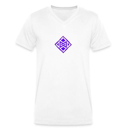 The Violet design - Männer Bio-T-Shirt mit V-Ausschnitt von Stanley & Stella