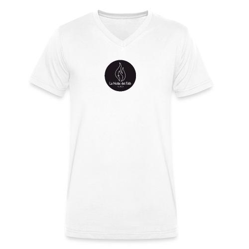 Logo Notte dei falo 3 - T-shirt ecologica da uomo con scollo a V di Stanley & Stella