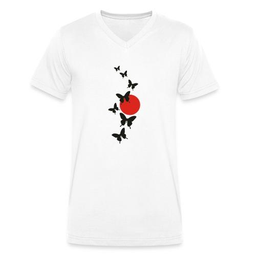 Butterfly - Männer Bio-T-Shirt mit V-Ausschnitt von Stanley & Stella