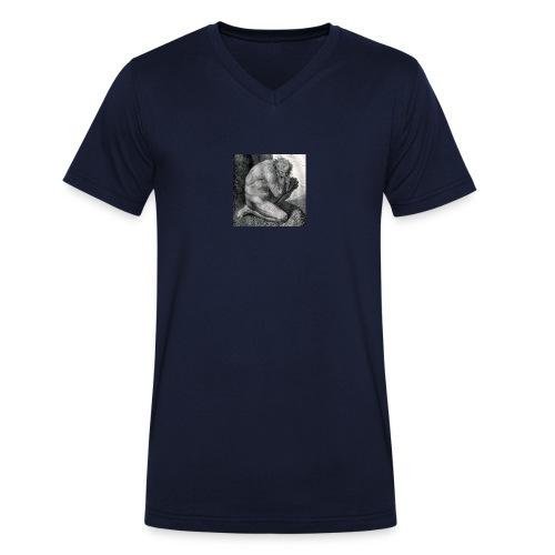 Pape Satan, Pape Satan aleppe - T-shirt ecologica da uomo con scollo a V di Stanley & Stella