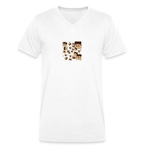TsaiclonGaming || Krezor SnapBack - Mannen bio T-shirt met V-hals van Stanley & Stella