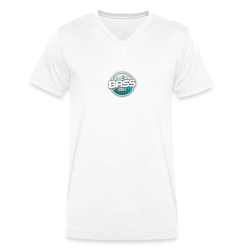 Plain T-Shirt with Logo - Men's Organic V-Neck T-Shirt by Stanley & Stella