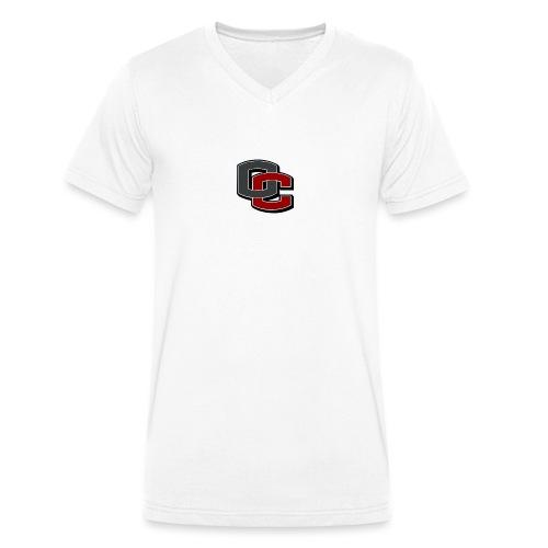 66 - Økologisk T-skjorte med V-hals for menn fra Stanley & Stella