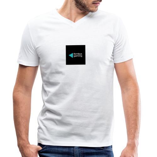 fernbus gaming - Ekologisk T-shirt med V-ringning herr från Stanley & Stella