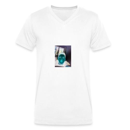 Fletch wild - Men's Organic V-Neck T-Shirt by Stanley & Stella