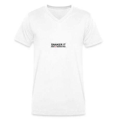 SNAKER IT - T-shirt bio col V Stanley & Stella Homme