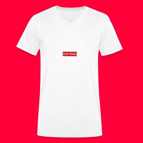 fuck trump - T-shirt bio col V Stanley & Stella Homme