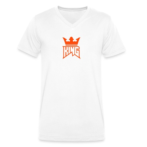 KING OF THE ALPS - Men's Organic V-Neck T-Shirt by Stanley & Stella