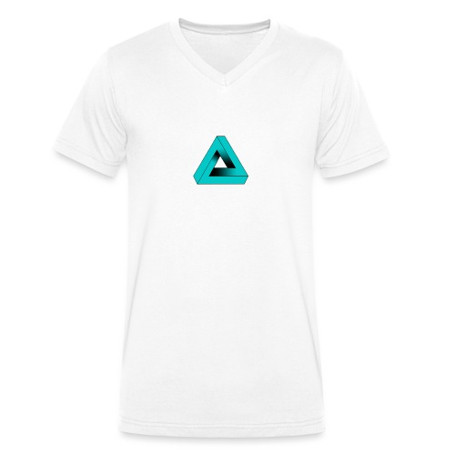Impossible Triangle - Men's Organic V-Neck T-Shirt by Stanley & Stella