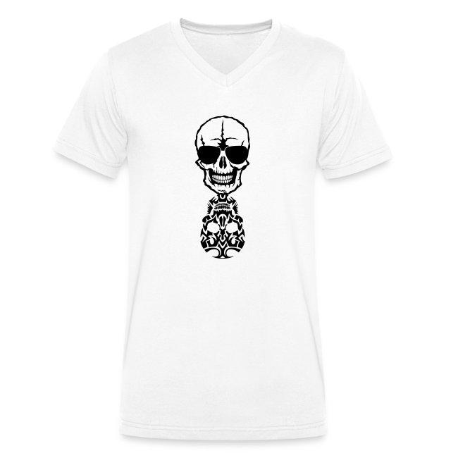 tete mort skull tribal reflet dead death