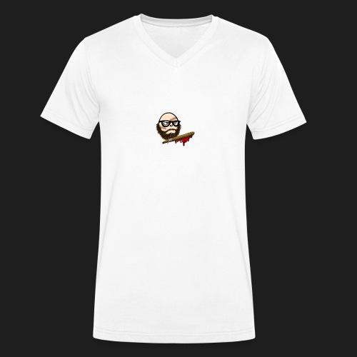 Durex Keule - Männer Bio-T-Shirt mit V-Ausschnitt von Stanley & Stella