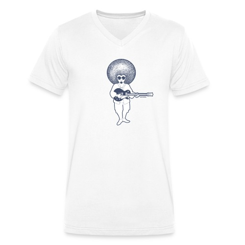 Guitarisk - T-shirt bio col V Stanley & Stella Homme