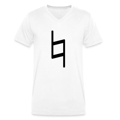 holy brand shirt, black - Männer Bio-T-Shirt mit V-Ausschnitt von Stanley & Stella
