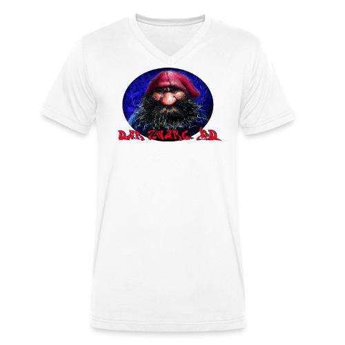 DerZwergHD (w) - Männer Bio-T-Shirt mit V-Ausschnitt von Stanley & Stella