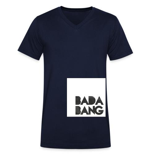 tshirt badabang - Männer Bio-T-Shirt mit V-Ausschnitt von Stanley & Stella