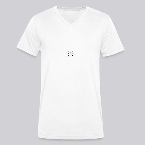 M.C.E WhiteEdition - Camiseta ecológica hombre con cuello de pico de Stanley & Stella