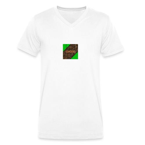 Wokky T Shirt - Ekologisk T-shirt med V-ringning herr från Stanley & Stella