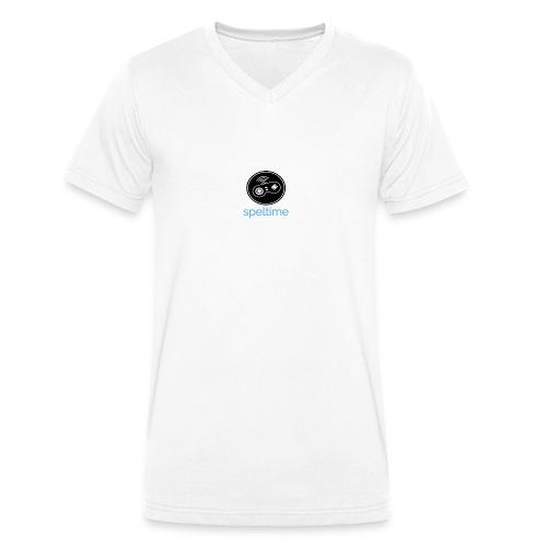 SPELTIME - Ekologisk T-shirt med V-ringning herr från Stanley & Stella