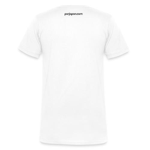 porjapon - Camiseta ecológica hombre con cuello de pico de Stanley & Stella