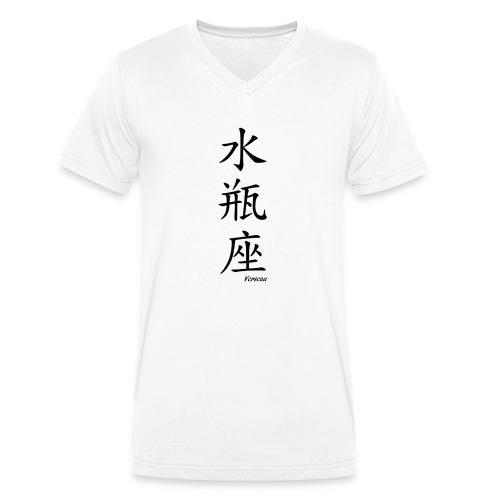 signe chinois verseau - T-shirt bio col V Stanley & Stella Homme
