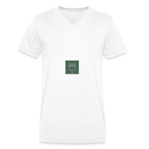 GINN - Men's Organic V-Neck T-Shirt by Stanley & Stella