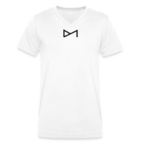 Logo Deutsche Models DM B - Männer Bio-T-Shirt mit V-Ausschnitt von Stanley & Stella