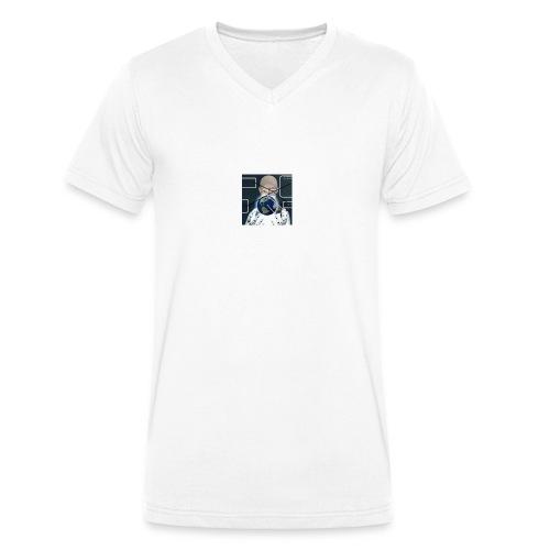 ariel digit album cover - Men's Organic V-Neck T-Shirt by Stanley & Stella