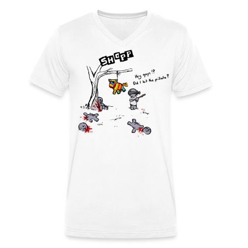 0074_Pinata - Männer Bio-T-Shirt mit V-Ausschnitt von Stanley & Stella