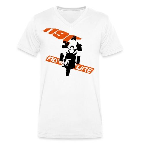 Adv1190 - Männer Bio-T-Shirt mit V-Ausschnitt von Stanley & Stella