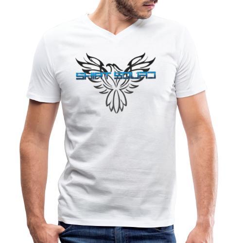 Shirt Squad Logo - Men's Organic V-Neck T-Shirt by Stanley & Stella