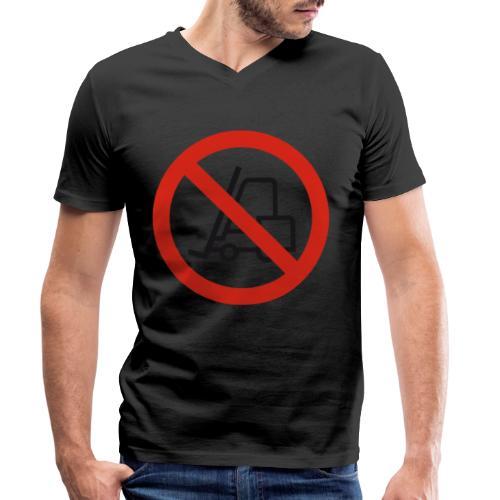 Stapler Crew Stagehand - Männer Bio-T-Shirt mit V-Ausschnitt von Stanley & Stella