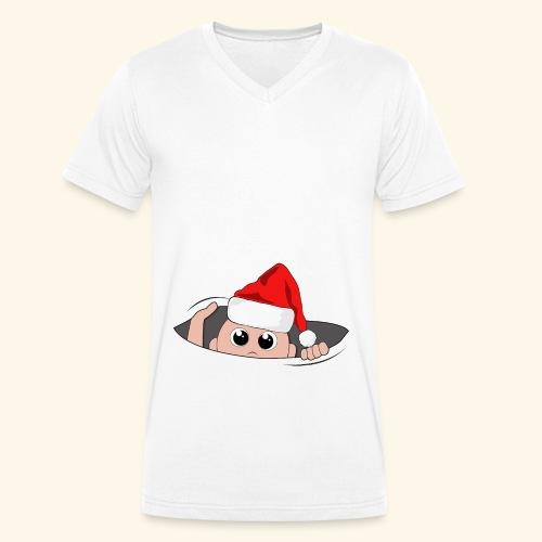 Baby Nikolaus - Männer Bio-T-Shirt mit V-Ausschnitt von Stanley & Stella