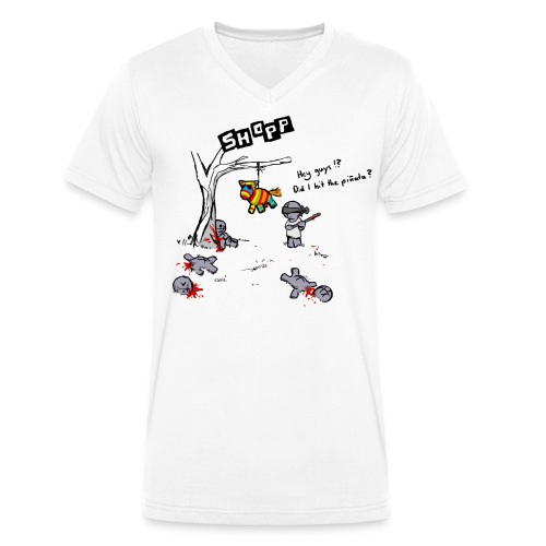 Pinata - Männer Bio-T-Shirt mit V-Ausschnitt von Stanley & Stella