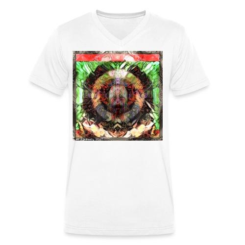 002 - Mannen bio T-shirt met V-hals van Stanley & Stella