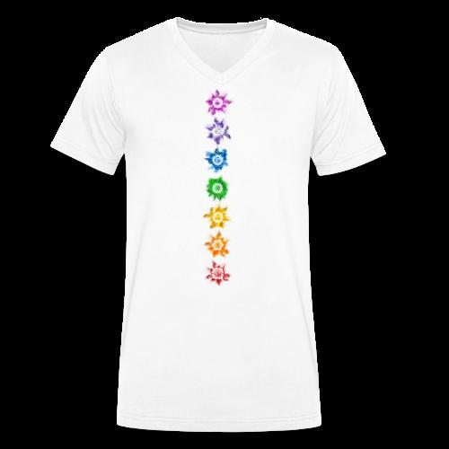 Chakra - Shirt - Männer Bio-T-Shirt mit V-Ausschnitt von Stanley & Stella
