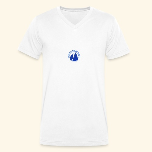 yacht club de tahiti logo - T-shirt bio col V Stanley & Stella Homme