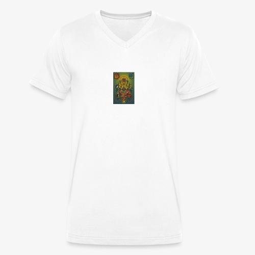 9c3cc0bd714b5a8f4877e4d9cb11360b - Männer Bio-T-Shirt mit V-Ausschnitt von Stanley & Stella