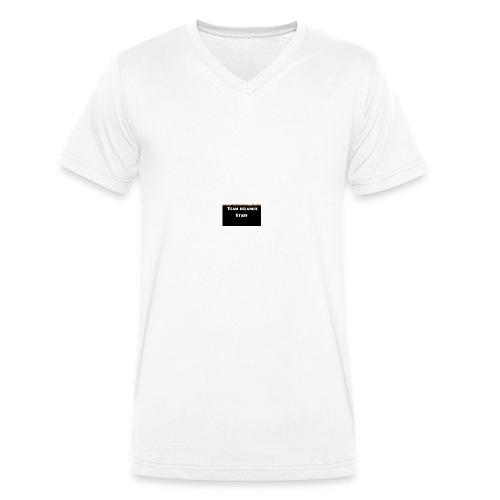 T-shirt staff Delanox - T-shirt bio col V Stanley & Stella Homme