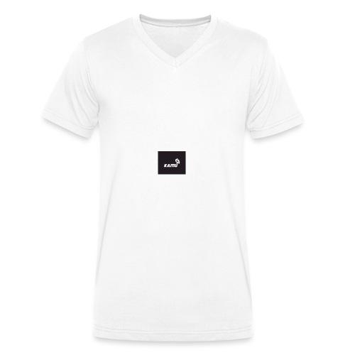 KAMU - Männer Bio-T-Shirt mit V-Ausschnitt von Stanley & Stella