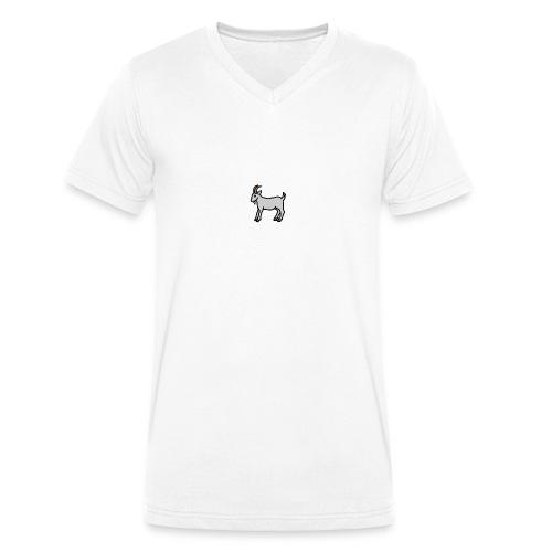 Ged T-shirt herre - Økologisk Stanley & Stella T-shirt med V-udskæring til herrer