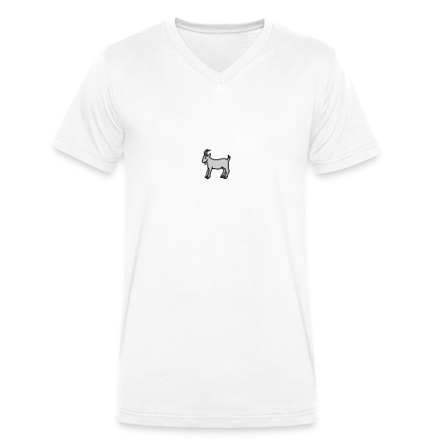 Ged T-shirt dame - Økologisk Stanley & Stella T-shirt med V-udskæring til herrer